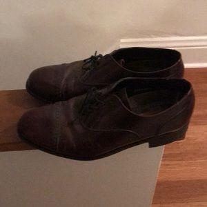 Maroon Florsheim Dress Shoes